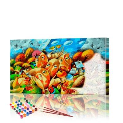 Картина по номерам Импрессионизм ArtSale размер 40х70 см