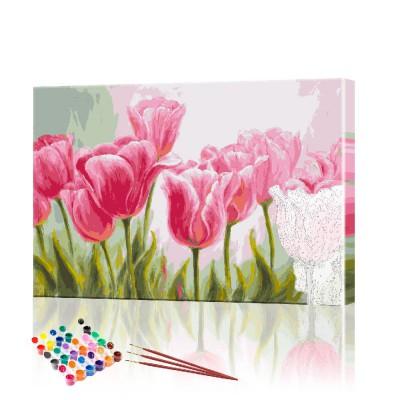 Картина по номерам Тюльпаны ArtSale размер 30х40 см