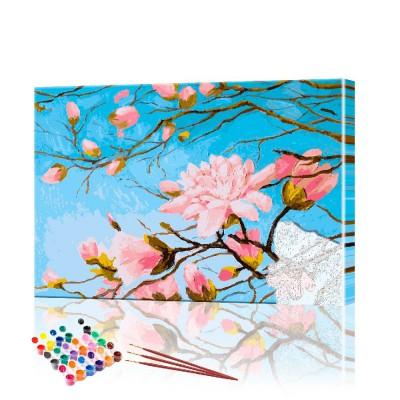 Картина по номерам Сакура ArtSale размер 40х50 см