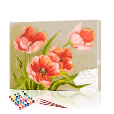 Картина по номерам Тюльпаны ArtSale размер 40х50 см