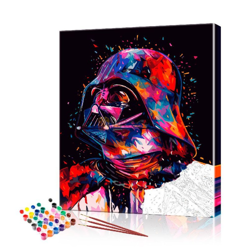 Картина по номерам звездные войны ArtSale размер 40х50 см