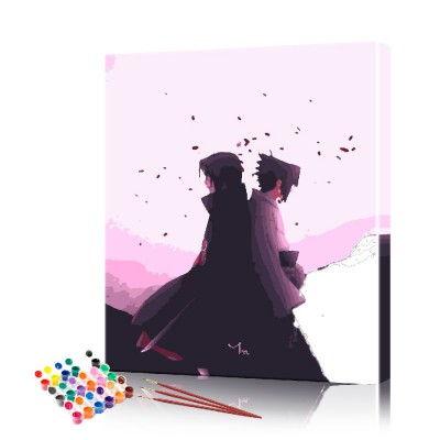 Картина по номерам Аниме #1 ArtSale размер 40х50 см