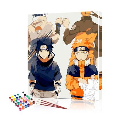 Картина по номерам Аниме Наруто ArtSale размер 40х50 см
