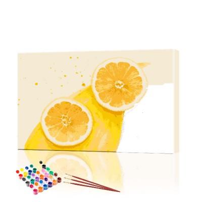 Картина по номерам Фрукты ArtSale размер 40х60 см