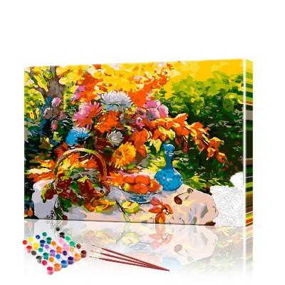 Картина по номерам Натюрморт ArtSale размер 40х50 см