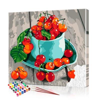 Картина по номерам Натюрморт ArtSale размер 40х40 см