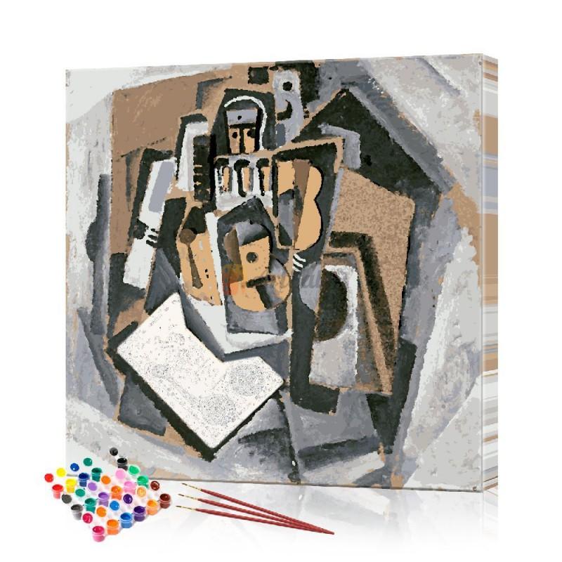 Картина по номерам Абстракция ArtSale размер 30х30 см