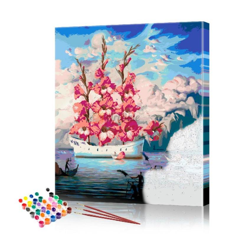 Картина по номерам Импрессия ArtSale размер 40х50 см