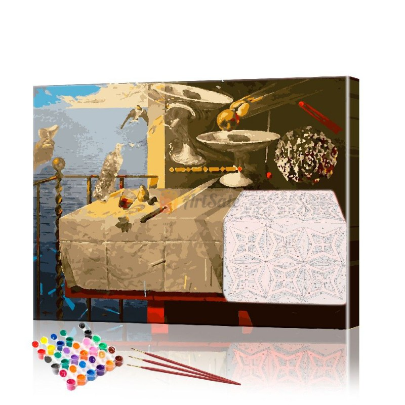 Картина по номерам Дали ArtSale размер 40х50 см