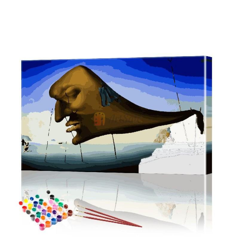 Картина по номерам Импрессия Дали ArtSale размер 40х70 см