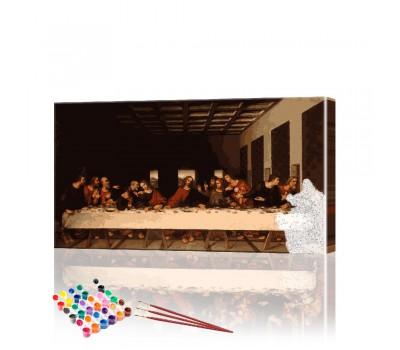 Картина по номерам Тайная вечеря ArtSale размер 40х70 см
