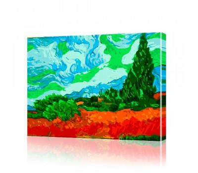 Картина по номерам Ван Гог ArtSale размер 40х50 см