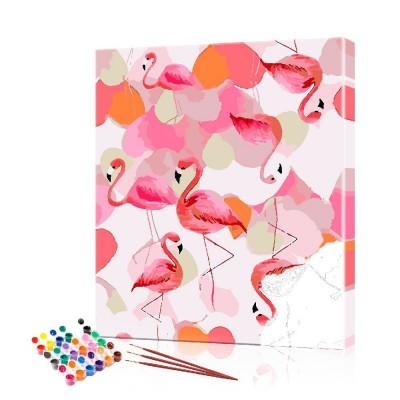 Картина по номерам Фламинго ArtSale размер 40х50 см