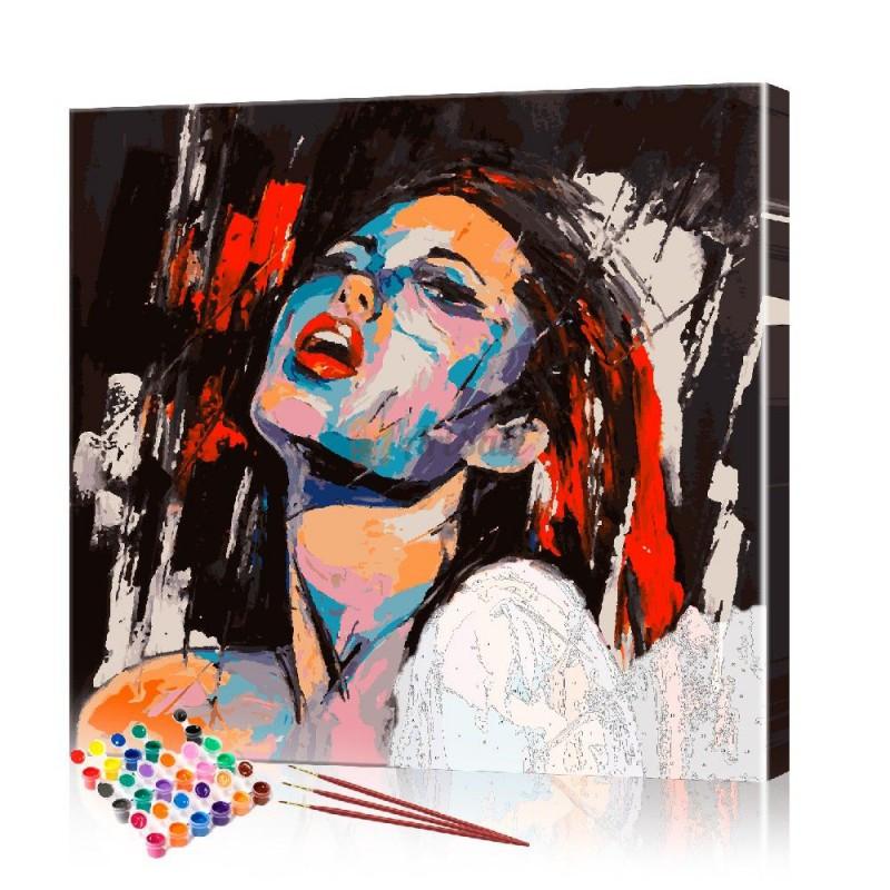 Картина по номерам Поп арт ArtSale размер 40х40 см