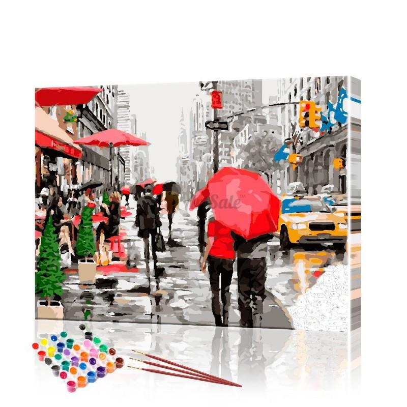 Картина по номерам Пара ArtSale размер 40х50 см