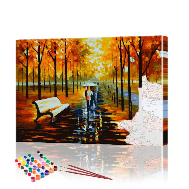 Картина по номерам Городской пейзаж ArtSale размер 40х60 см