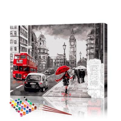 Картина по номерам Лондон ArtSale размер 40х50 см