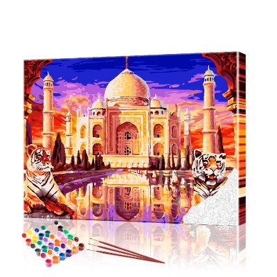 Картина по номерам Индия ArtSale размер 40х50 см