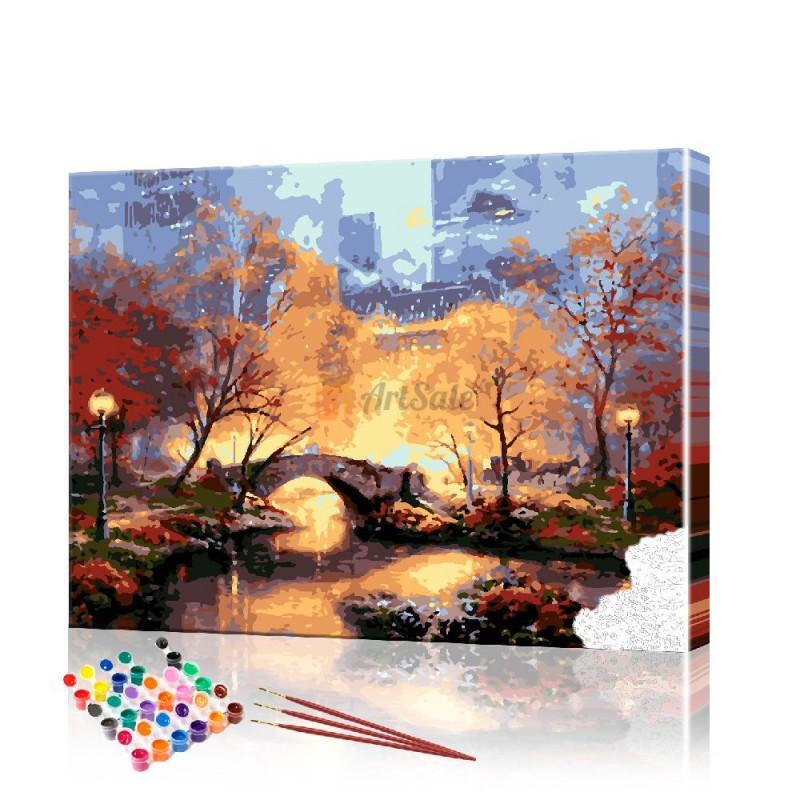 Картина по номерам Город ArtSale размер 40х50 см
