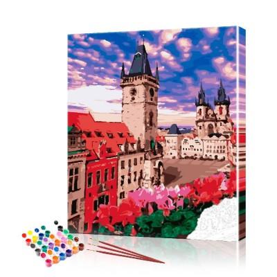 Картина по номерам Прага ArtSale размер 40х50 см
