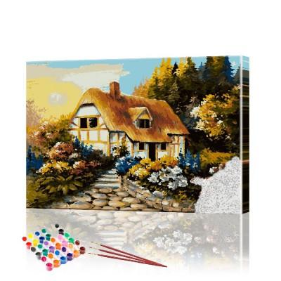 Картина по номерам Лесной пейзаж ArtSale размер 40х60 см