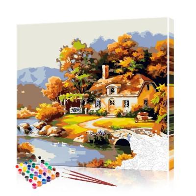 Картина по номерам Прованс ArtSale размер 40х40 см