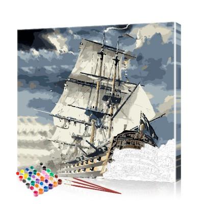 Картина по номерам Морской пейзаж ArtSale размер 40х40 см
