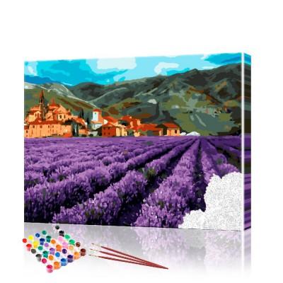 Картины по номерам Прованс ArtSale размер 40х50 см